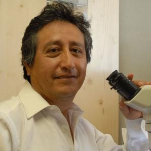 Dr. Raul Villanueva, Extension Entomologist in Princeton, KY