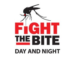 Figure 1. Fight the bite logo (Adapted from Hays County (Texas) Government Mosquito Surveillance Program)